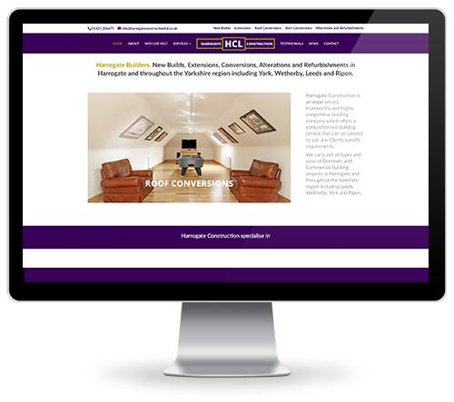Yorkshire Builders Web Design Harrogate