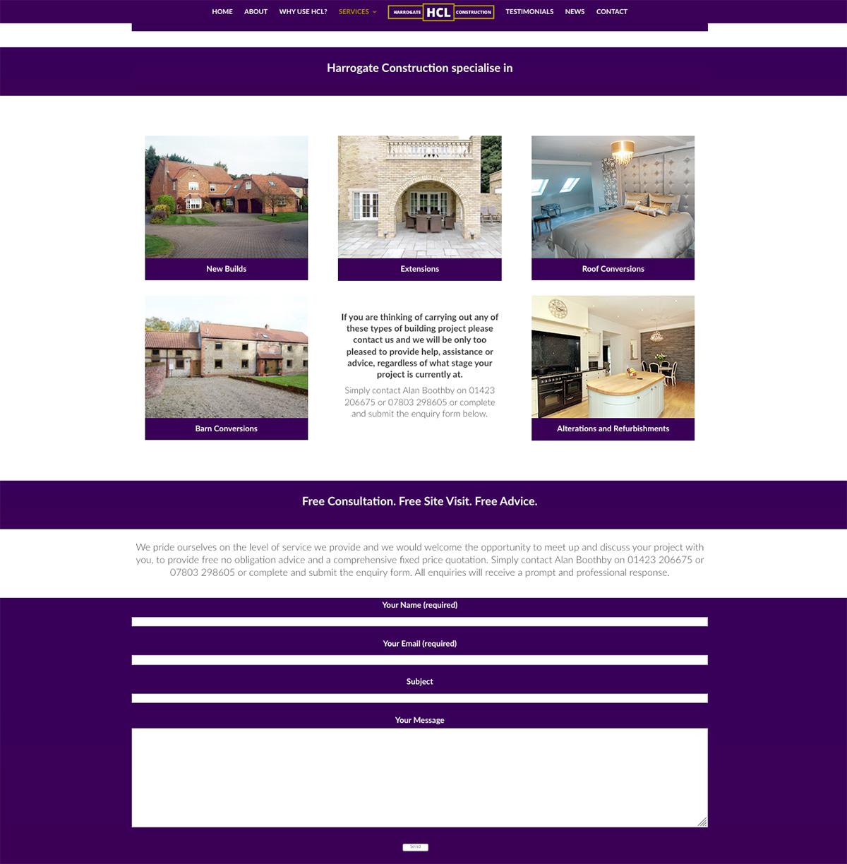 Yorkshire Harrogate Web Designers Seo